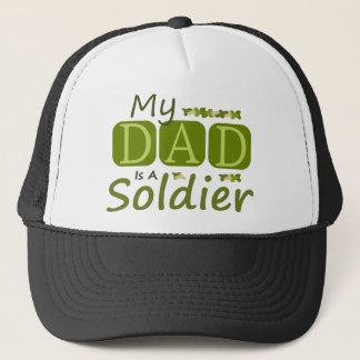 Mijn Papa is een Militair Trucker Pet