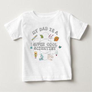 Mijn Papa is een Super Koele Wetenschapper (Baby) Baby T Shirts