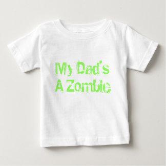 Mijn Papa is een Zombie Baby T Shirts