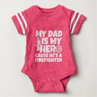 Mijn Papa is mijn oorzaak van de Held hij een baby Romper