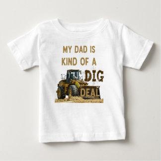 Mijn Papa is Vriendelijk van een DIG Overeenkomst Baby T Shirts