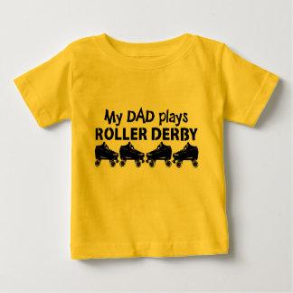 Mijn Papa speelt de Derby van de Rol, het Baby T Shirts