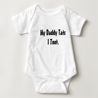 Mijn Papa Tats. I toot. Romper