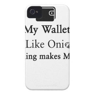 Mijn Portefeuille is als een Ui, maakt het Openen iPhone 4 Hoesje