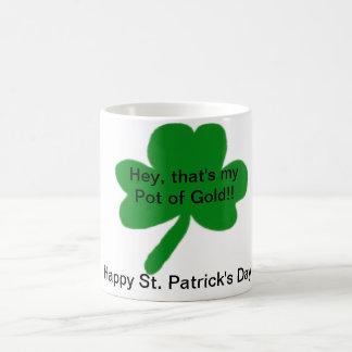 Mijn Pot van de Gouden Gelukkige St. Patrick Mok Koffiemok