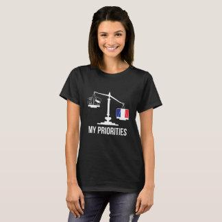 Mijn Prioriteiten Frankrijk tipt de T-shirt van de