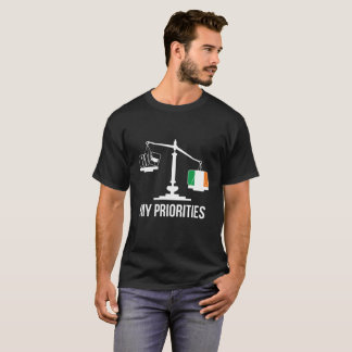 Mijn Prioriteiten Ierland tipt de T-shirt van de