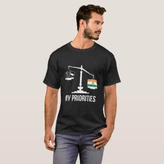 Mijn Prioriteiten India tipt de T-shirt van de