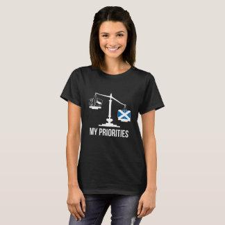 Mijn Prioriteiten Schotland tipt het Overhemd van T Shirt