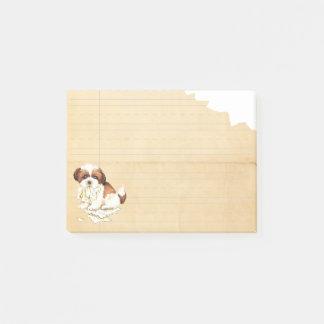 Mijn Shih Tzu at mijn Thuiswerk Post-it® Notes