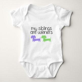 Mijn Siblings zijn Worstjes | ontwerp van 2 Romper
