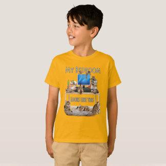 Mijn Slaapkamer kijkt als dit T Shirt