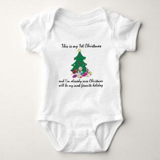 Mijn T-shirt van 1st Kerstmis