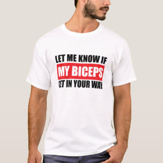 Mijn T-shirt van de Geschiktheid van Bicepsen