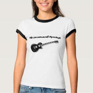 Mijn t-shirt van echtgenootrotsen