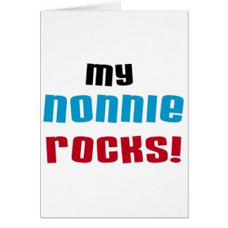 Mijn t-shirts en Giften van Rotsen Nonnie Kaart