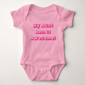 Mijn Tante Ann is Geweldige! Overhemd uit één stuk Romper