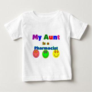 """""""Mijn Tante is een apotheker"""" Kinder Giften Baby T Shirts"""