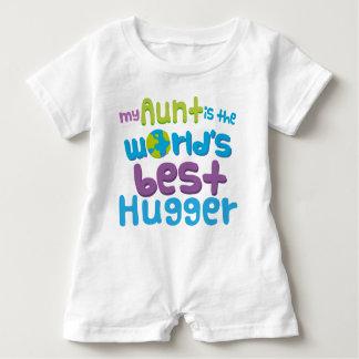 Mijn Tante is het Beste Hugger het babykruippakje Romper