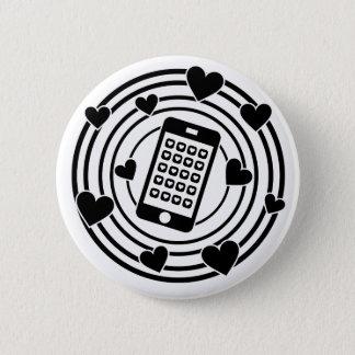 Mijn Telefoon is het Centrum van Mijn Heelal! Ronde Button 5,7 Cm