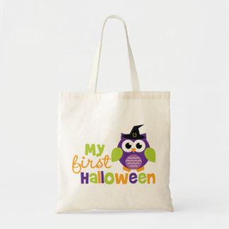 Mijn Uil van de Heks van Eerste Halloween Draagtas