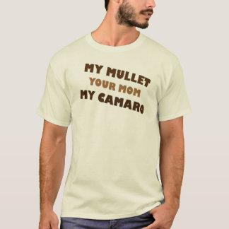 Mijn Verticale raamstijl Uw Mamma Mijn Camaro T Shirt