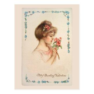 Mijn Vintage Briefkaart van Valentijn van de Schat