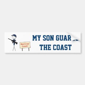 """""""Mijn Zoon de Sticker van de Bumper bewaakt van de"""