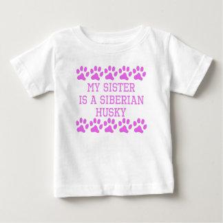 Mijn Zuster is een Schor Siberiër Baby T Shirts