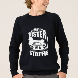 Mijn Zuster is een Staffie Sweater
