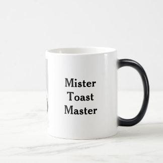 Mijnheer Toast Master M. de Mok van de Koffie van