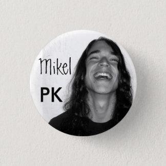 Mikel op een knoop ronde button 3,2 cm