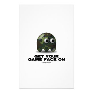 Militair (Militaire Retro Avatar van de Camouflage Briefpapier