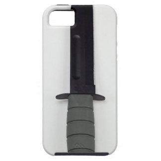 militaire de Ka-bar van het gevechtsmes verticale Tough iPhone 5 Hoesje