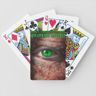 Militairen van ZED de 1st Uitgave van de Dekking Poker Kaarten