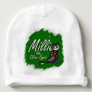 Millie de Ogen van de Olijf, Wit Pet 1 van het Baby Mutsje