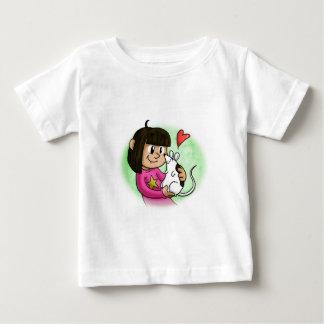 Millie en Cupcake Baby T Shirts