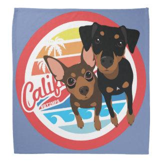 Min Speld Bandana van de Hond van Cali