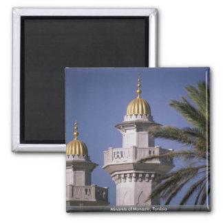 Minaretten van Monastir, Tunesië Magneet