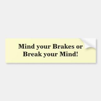 Mind1 Bumpersticker