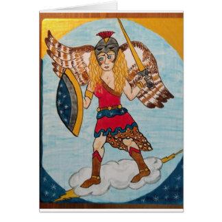 Minerva /Athena - Godin van Wijsheid Briefkaarten 0