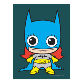 Mini Batgirl Briefkaart