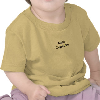 Mini Cupcake voor BABY! Shirt