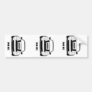 MINI me de Sticker van de Bumper - 3 stickers in 1