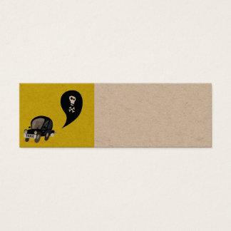 Mini visitekaartjes, de RECYCLENE GIFTIGE AUTO van Mini Visitekaartjes