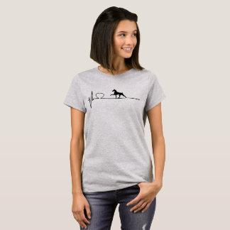 Miniatuur Hartslag Pinscher T Shirt