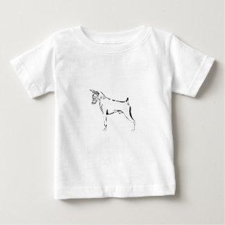 Miniatuur Pinscher Baby T Shirts