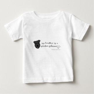 miniatuur schnauzer baby t shirts