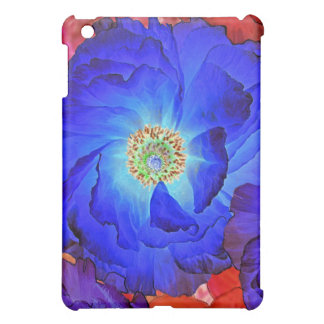 MiniHoesje van de Kunst van de Papaver van ruches  iPad Mini Cases
