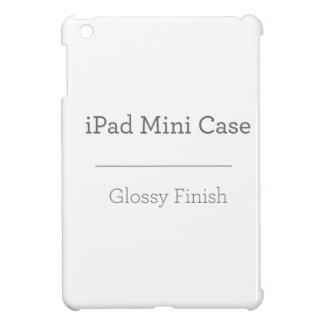 MiniHoesje van iPad van de douane het Glanzende iPad Mini Case